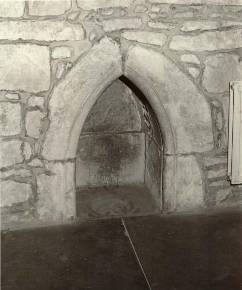 Dornoch Cathedral piscina