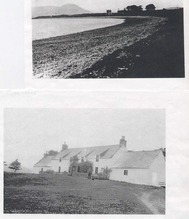 House and point at Meikle Ferry