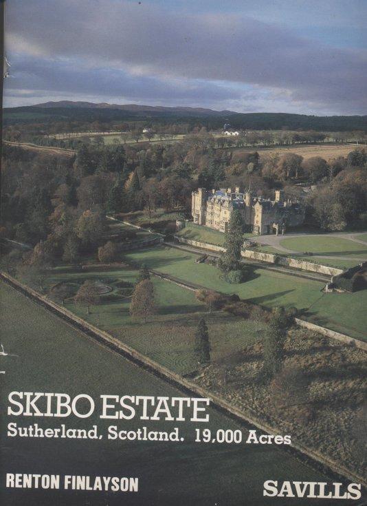 Particulars of Sale of Skibo Estate 1982