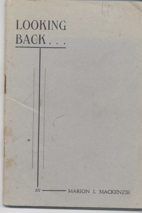 Booklet 'Looking Back' 1953