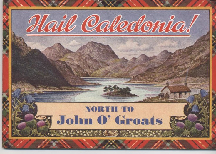 Booklet 'Hail Caledonia - North to John O' Groats'