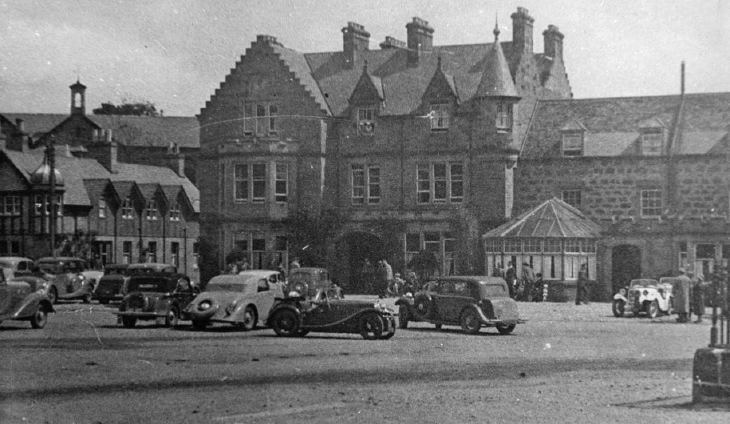 Car Rally at Sutherland Arms Hotel Dornoch