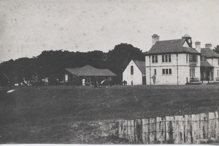 Royal Dornoch Golf Clubhouse 1910