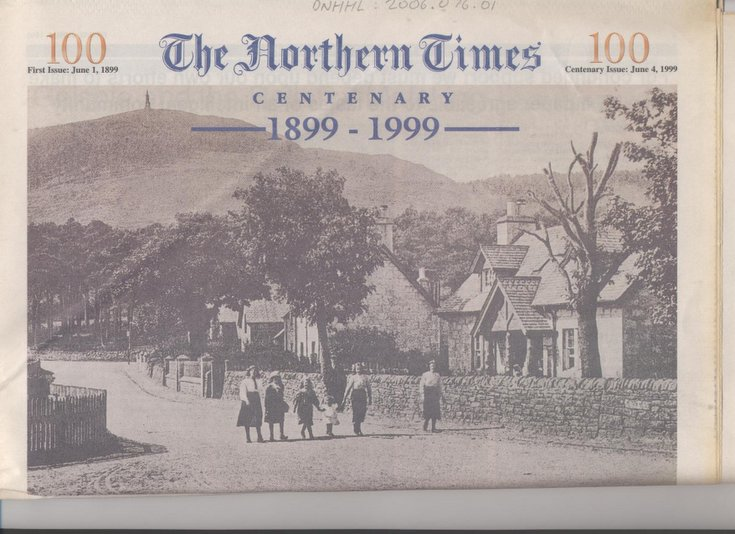 Northern Times Centenary Edition 1899-1999