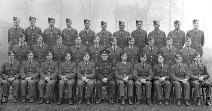 RAF Police Group Photograph