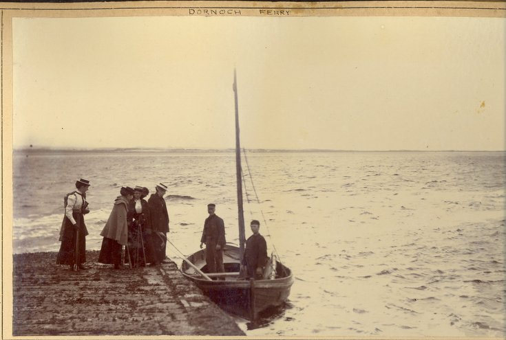 Meikle Ferry at pier 1896