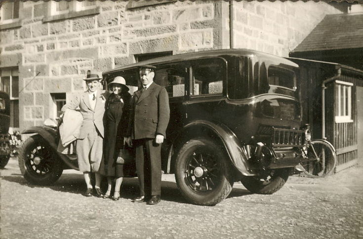 Lewis, Ruby and Macleod at Ardgay ~ Oct. 1935