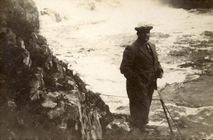 Thomas Hardie below Shin Falls