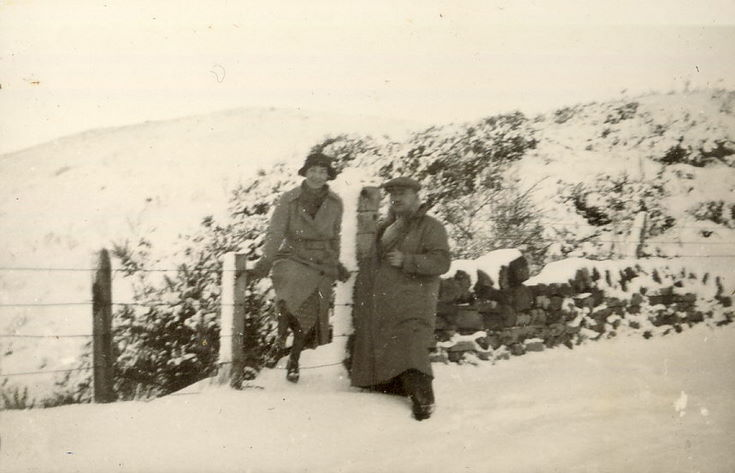 Barrie and Mr. Hardie at Clashmore