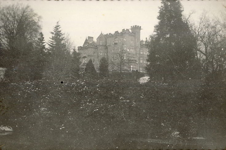 Skibo Castle from the south-east