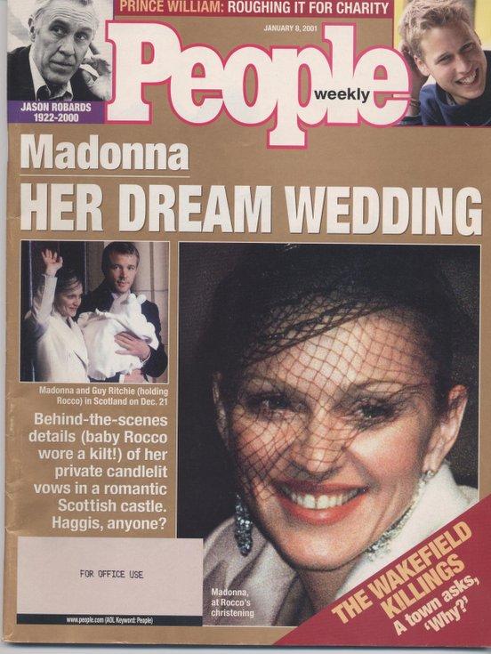 Wedding of Madonna 2001