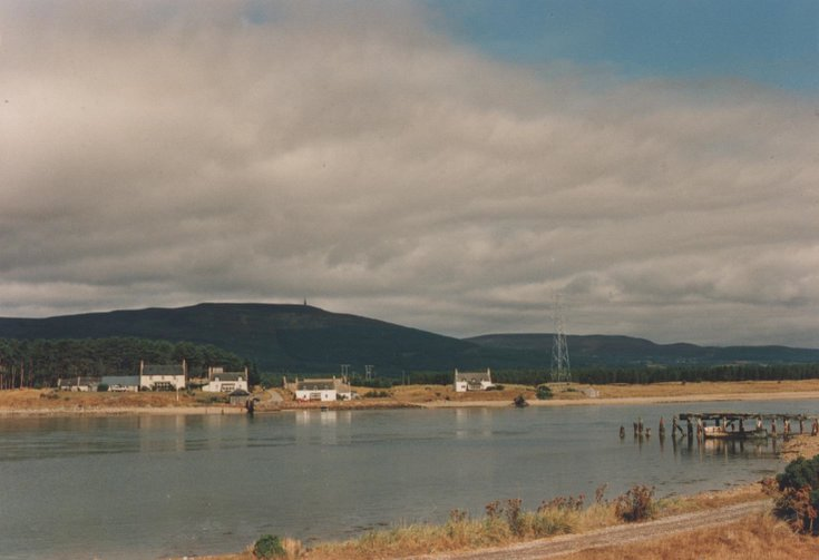 Littleferry crossing in 1990s