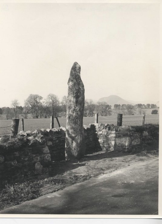 Re-siting of Clach a'Charra in 1968