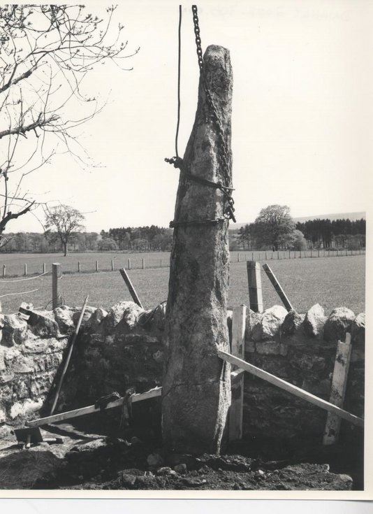 Repositioning of Clach a'Charra in 1968