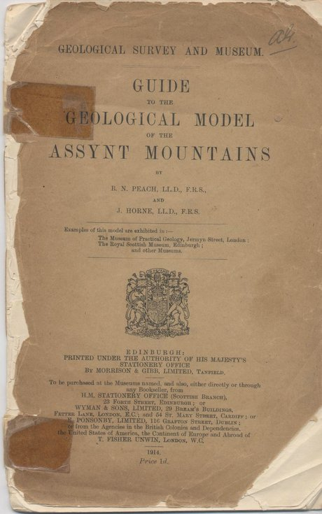 Guide to the Geological Model of the Assynt Mountains
