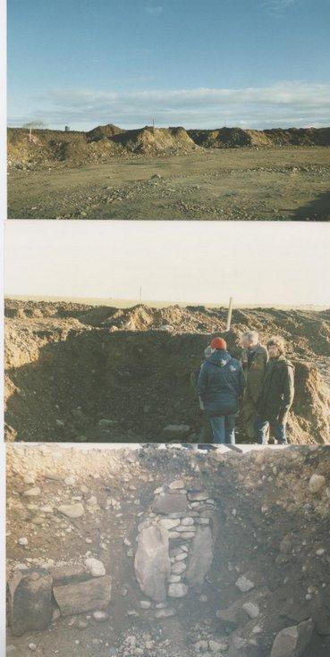 Dig at Cyderhall November 1987 - January 1988