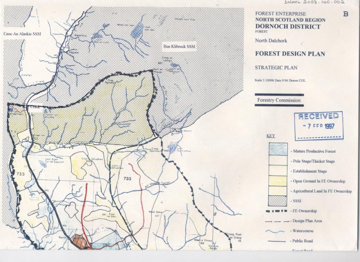 Forest Enterprise plan for North Dalchork