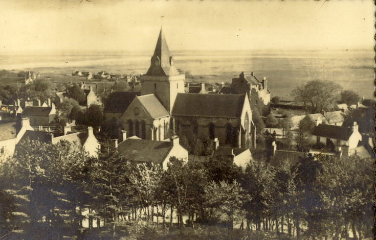 Dornoch Cathedral ~ View south from Burghfield