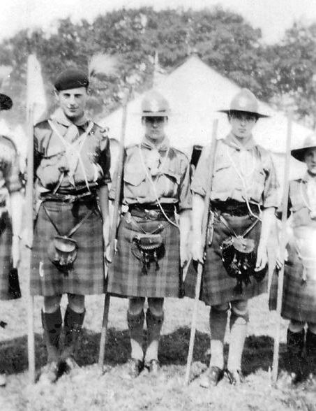 Scouts at camp 1928-34