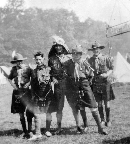 Scouts at World Jamboree