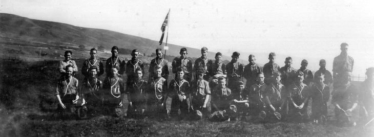 Scout group photograph