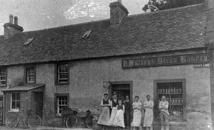 Murray's Steam Bakery, Dean's Lane, Dornoch
