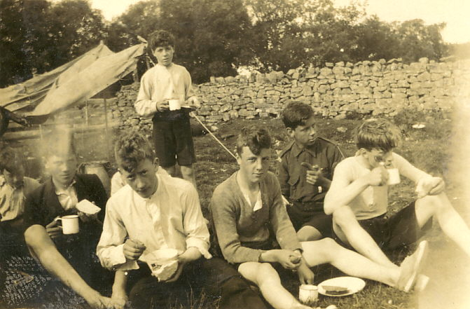 Scouts tea