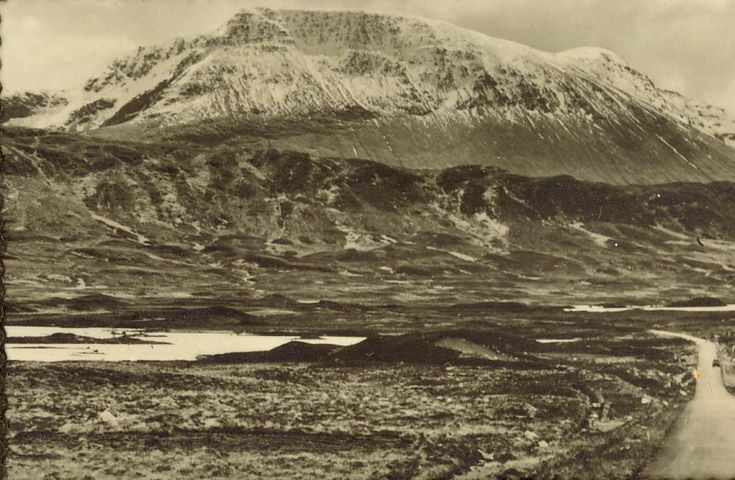 Highland View - snow on the summits