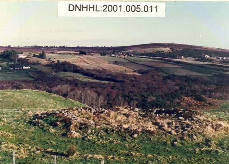 Crask settlement and Creagan Asdale hut circle