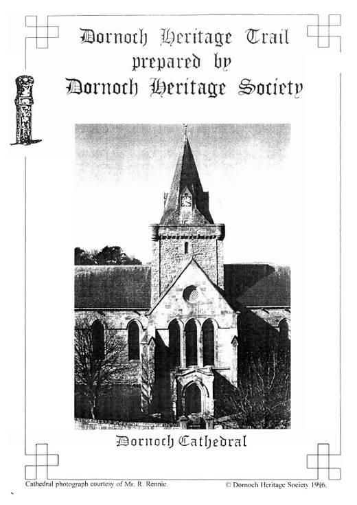 Dornoch Heritage Trail 1996