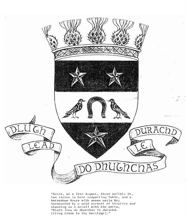 Dornoch Burgh Crest
