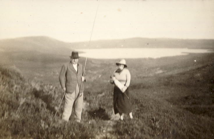 Mrs. Hardie, and an Unidentified Gentleman