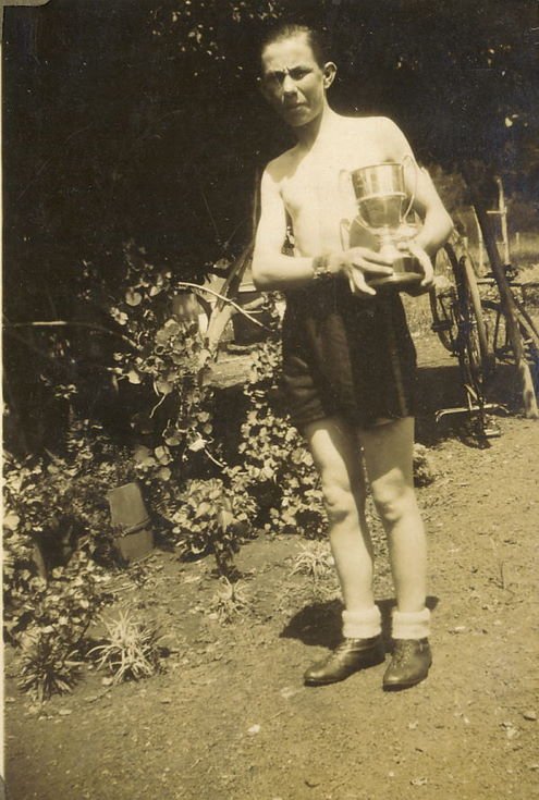 Gentleman with Silver Cup