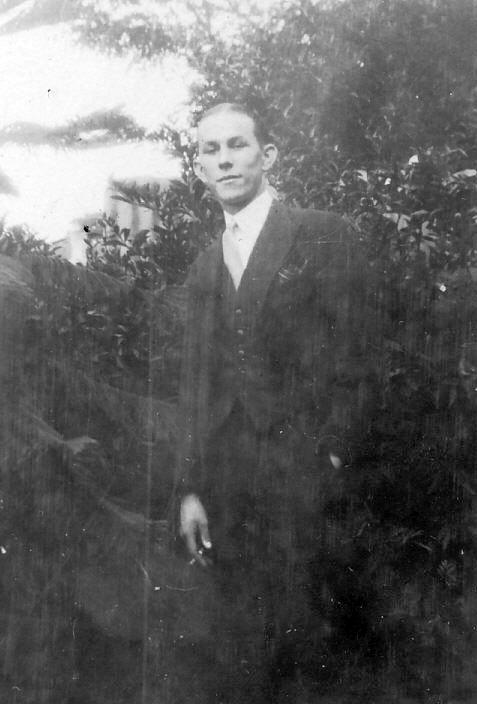 Young Man (probably Robert) in South Africa