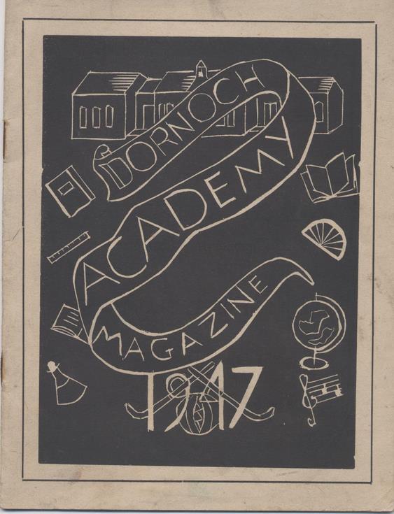 Dornoch Academy Magazine 1947