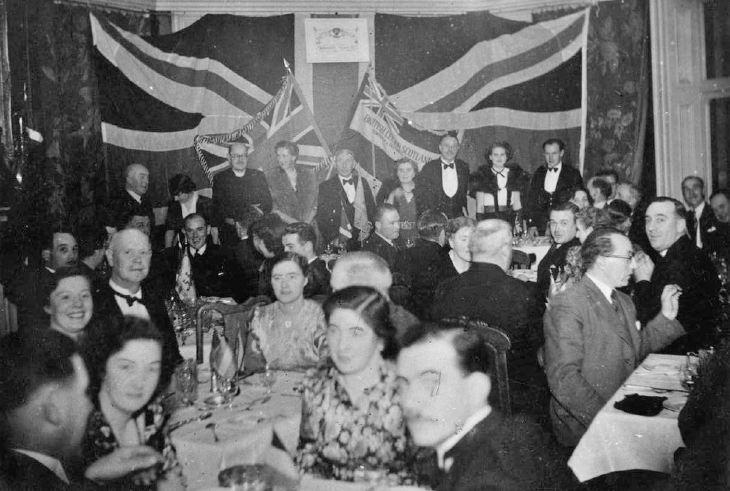 British Legion Dinner c 1945