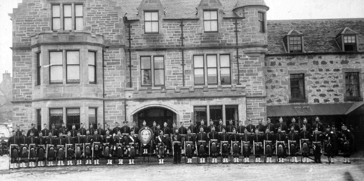 Dornoch Company Seaforth Highlanders Volunteers 1880
