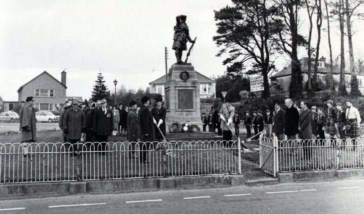 Remembrance Day Service, November 1983