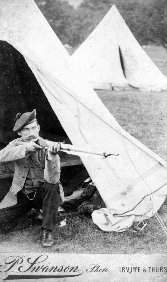 Sgt Bethune at Bisley c  1890