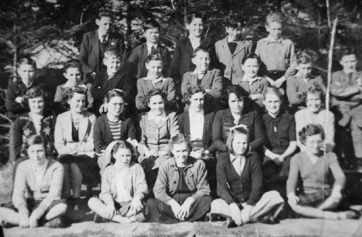 Dornoch Academy Class 1953