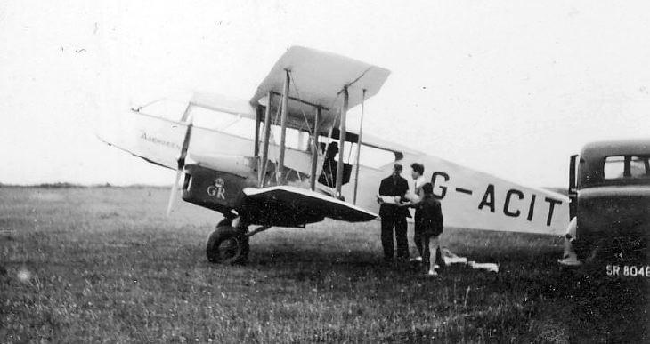 Aeroplane G-ACIT