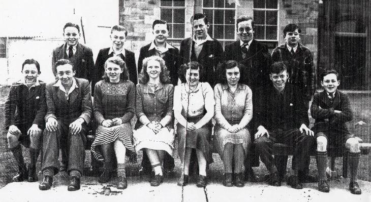 Dornoch Academy Pupils 1949