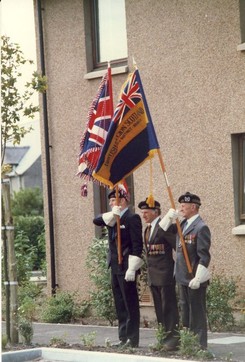Colour Party Stafford Court opening 1986