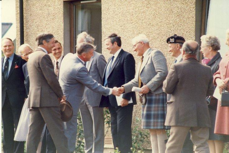 Opening of Stafford Court British Legion Housing