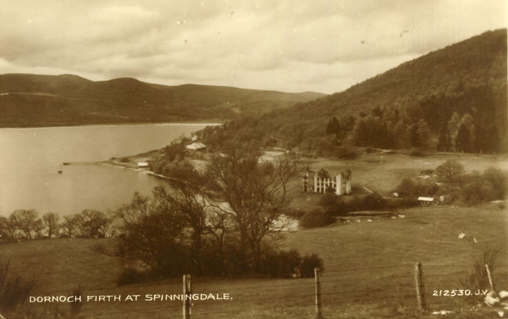 Dornoch Firth at Spinningdale