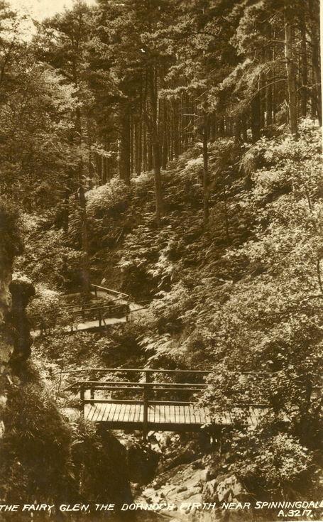 Fairy Glen, The Dornoch Firth, near Spinningdale