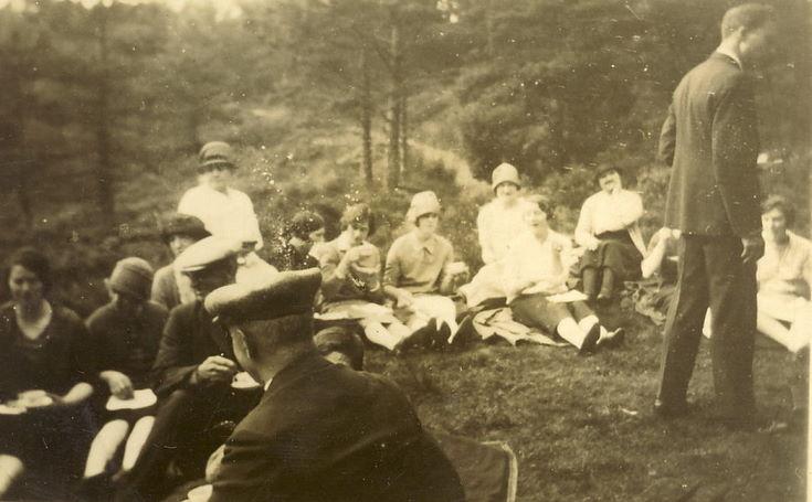 Picnic at Fairy Glen c 1930