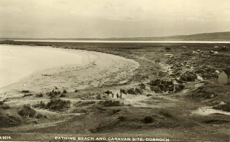 Bathing Beach and Caravan Site, Dornoch