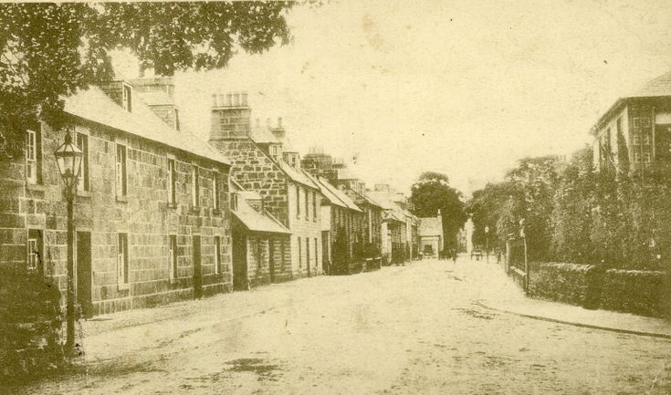 Castle Street, Dornoch c 1930