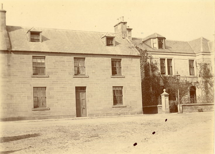 School House & Bank of Scotland House, High Street, Dornoch